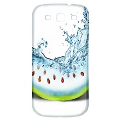 Fruit Water Slice Watermelon Samsung Galaxy S3 S Iii Classic Hardshell Back Case by Alisyart