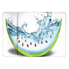 Fruit Water Slice Watermelon Samsung Galaxy Tab 10 1  P7500 Flip Case by Alisyart