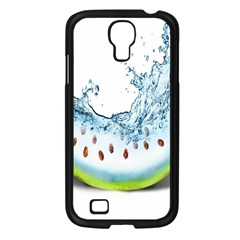 Fruit Water Slice Watermelon Samsung Galaxy S4 I9500/ I9505 Case (black) by Alisyart