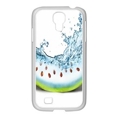 Fruit Water Slice Watermelon Samsung Galaxy S4 I9500/ I9505 Case (white) by Alisyart