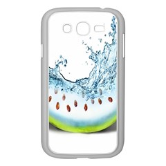 Fruit Water Slice Watermelon Samsung Galaxy Grand Duos I9082 Case (white) by Alisyart