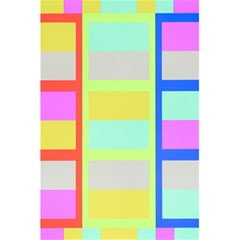 Maximum Color Rainbow Red Blue Yellow Grey Pink Plaid Flag 5 5  X 8 5  Notebooks by Alisyart