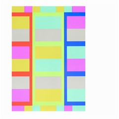 Maximum Color Rainbow Red Blue Yellow Grey Pink Plaid Flag Large Garden Flag (two Sides) by Alisyart