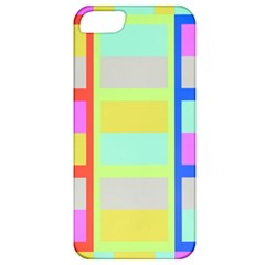 Maximum Color Rainbow Red Blue Yellow Grey Pink Plaid Flag Apple Iphone 5 Classic Hardshell Case by Alisyart