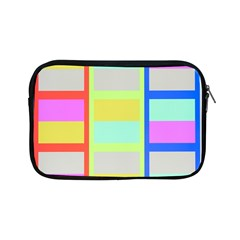 Maximum Color Rainbow Red Blue Yellow Grey Pink Plaid Flag Apple Ipad Mini Zipper Cases by Alisyart