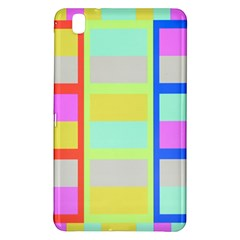 Maximum Color Rainbow Red Blue Yellow Grey Pink Plaid Flag Samsung Galaxy Tab Pro 8 4 Hardshell Case by Alisyart