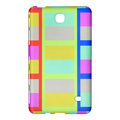 Maximum Color Rainbow Red Blue Yellow Grey Pink Plaid Flag Samsung Galaxy Tab 4 (7 ) Hardshell Case