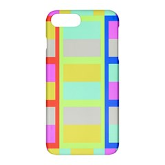 Maximum Color Rainbow Red Blue Yellow Grey Pink Plaid Flag Apple Iphone 7 Plus Hardshell Case by Alisyart