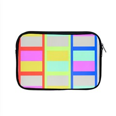 Maximum Color Rainbow Red Blue Yellow Grey Pink Plaid Flag Apple Macbook Pro 15  Zipper Case by Alisyart