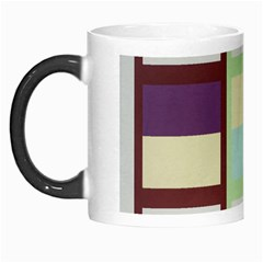 Maximum Color Rainbow Brown Blue Purple Grey Plaid Flag Morph Mugs by Alisyart