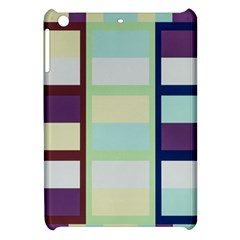 Maximum Color Rainbow Brown Blue Purple Grey Plaid Flag Apple Ipad Mini Hardshell Case