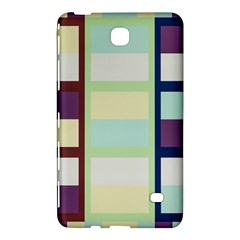 Maximum Color Rainbow Brown Blue Purple Grey Plaid Flag Samsung Galaxy Tab 4 (7 ) Hardshell Case