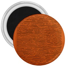 Illustration Orange Grains Line 3  Magnets
