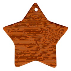 Illustration Orange Grains Line Ornament (star) by Alisyart