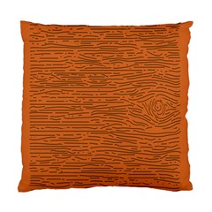 Illustration Orange Grains Line Standard Cushion Case (two Sides) by Alisyart