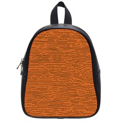 Illustration Orange Grains Line School Bags (small)  by Alisyart