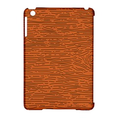 Illustration Orange Grains Line Apple Ipad Mini Hardshell Case (compatible With Smart Cover) by Alisyart