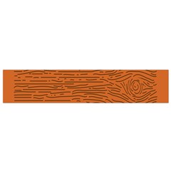 Illustration Orange Grains Line Flano Scarf (small) by Alisyart