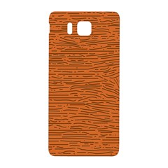 Illustration Orange Grains Line Samsung Galaxy Alpha Hardshell Back Case