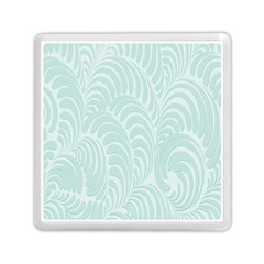 Leaf Blue Memory Card Reader (square)  by Alisyart