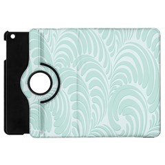 Leaf Blue Apple Ipad Mini Flip 360 Case by Alisyart