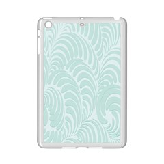 Leaf Blue Ipad Mini 2 Enamel Coated Cases