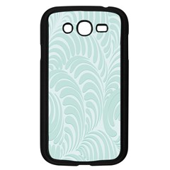 Leaf Blue Samsung Galaxy Grand Duos I9082 Case (black) by Alisyart