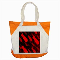 Missile Rockets Red Accent Tote Bag