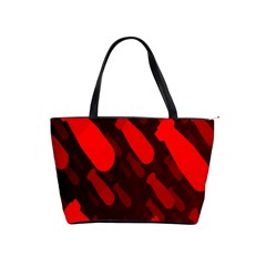 Missile Rockets Red Shoulder Handbags by Alisyart