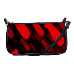 Missile Rockets Red Shoulder Clutch Bags by Alisyart