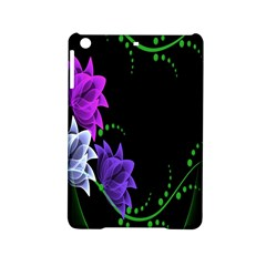 Neon Flowers Floral Rose Light Green Purple White Pink Sexy Ipad Mini 2 Hardshell Cases by Alisyart