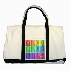 Multiplication Printable Table Color Rainbow Two Tone Tote Bag by Alisyart