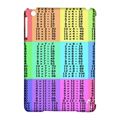 Multiplication Printable Table Color Rainbow Apple Ipad Mini Hardshell Case (compatible With Smart Cover)