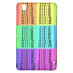 Multiplication Printable Table Color Rainbow Samsung Galaxy Tab Pro 8 4 Hardshell Case