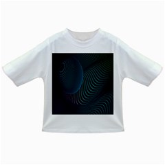 Line Light Blue Green Purple Circle Hole Wave Waves Infant/toddler T Shirts by Alisyart