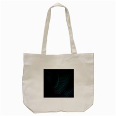 Line Light Blue Green Purple Circle Hole Wave Waves Tote Bag (cream) by Alisyart