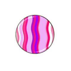 Pink Wave Purple Line Light Hat Clip Ball Marker (4 Pack) by Alisyart