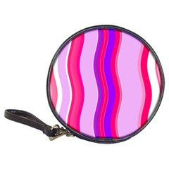 Pink Wave Purple Line Light Classic 20 Cd Wallets