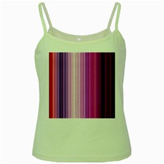Pink Vertical Color Rainbow Purple Red Pink Line Green Spaghetti Tank by Alisyart