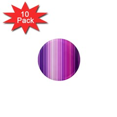 Pink Vertical Color Rainbow Purple Red Pink Line 1  Mini Magnet (10 Pack)  by Alisyart