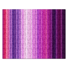 Pink Vertical Color Rainbow Purple Red Pink Line Rectangular Jigsaw Puzzl by Alisyart