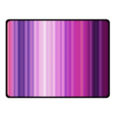 Pink Vertical Color Rainbow Purple Red Pink Line Fleece Blanket (small) by Alisyart