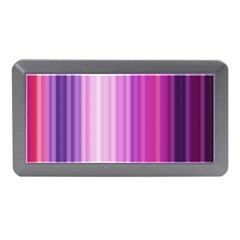 Pink Vertical Color Rainbow Purple Red Pink Line Memory Card Reader (mini) by Alisyart