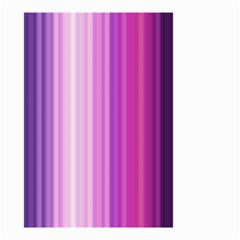 Pink Vertical Color Rainbow Purple Red Pink Line Small Garden Flag (two Sides) by Alisyart