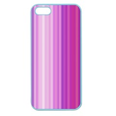 Pink Vertical Color Rainbow Purple Red Pink Line Apple Seamless Iphone 5 Case (color) by Alisyart