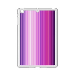 Pink Vertical Color Rainbow Purple Red Pink Line Ipad Mini 2 Enamel Coated Cases