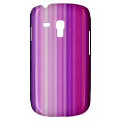 Pink Vertical Color Rainbow Purple Red Pink Line Galaxy S3 Mini by Alisyart