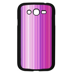 Pink Vertical Color Rainbow Purple Red Pink Line Samsung Galaxy Grand Duos I9082 Case (black) by Alisyart