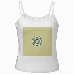 Shape Experimen Geometric Star Plaid Sign Ladies Camisoles by Alisyart