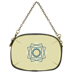 Shape Experimen Geometric Star Plaid Sign Chain Purses (one Side)  by Alisyart